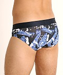 Emporio Armani All Over Camou Brief Marine Camou, view 4