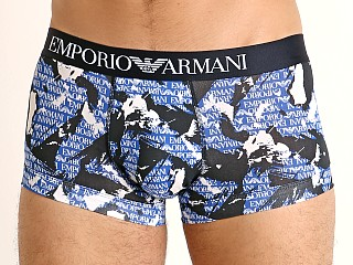 Emporio Armani All Over Camou Trunk Marine Camou