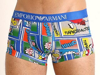 Emporio Armani Graphic Art Trunk Cartoon Print