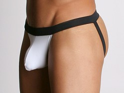 Tulio Power Pouch Supplex Jockstrap White