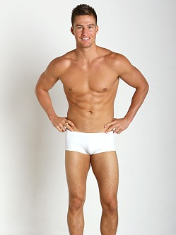 McKillop Maui White Party Magic Mesh Swim Brief White