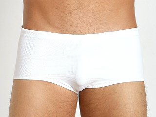 McKillop Maui White Party Magic Mesh Swim Trunk White