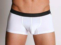 Tulio Power Pouch Slinky Square Cut Trunks White