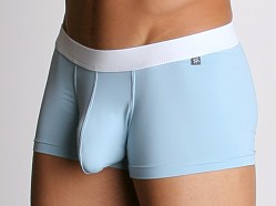 Tulio Power Pouch Slinky Square Cut Trunks Blue