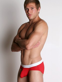 Tulio Power Pouch Slinky Briefs Red