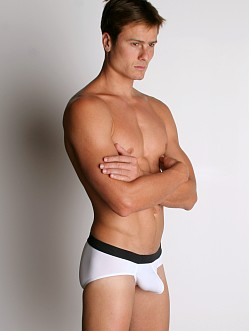Tulio Power Pouch Slinky Briefs White