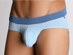 Tulio Power Pouch Slinky Briefs Blue