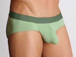 Tulio Power Pouch Slinky Briefs Green