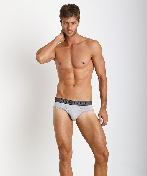Diesel Underdenim Blade Brief Heather Grey