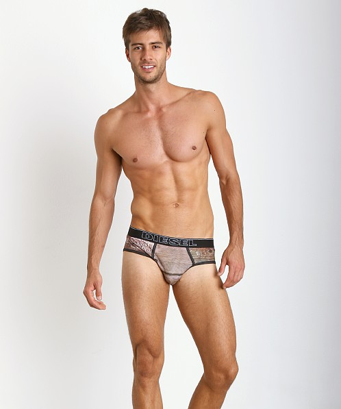 Diesel Prints Rico Brief Wood Grain