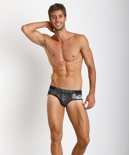 Diesel Prints Rico Brief Black