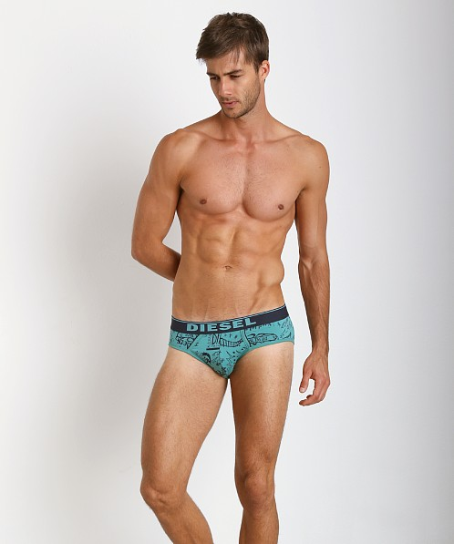 Diesel Andre Briefs Sea Foam