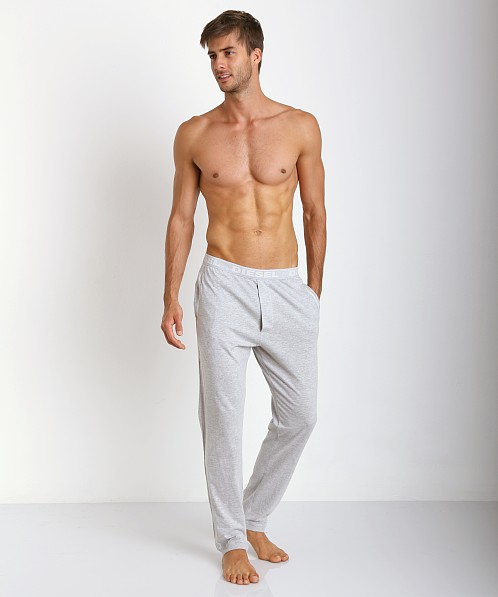 Diesel Massi 100% Cotton Lounge Pants Heather Grey