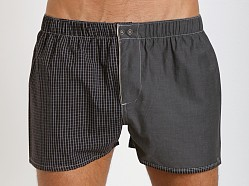Diesel Fred Boxer Shorts Black Check