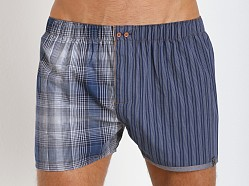 Diesel Fred Boxer Shorts Blue Stripes