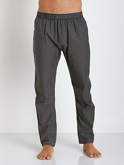 Diesel Workyboy 100% Cotton Lounge Pants Black