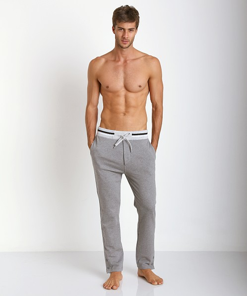 Diesel Martin 100% Cotton Lounge Pants Grey