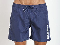 Diesel Markred Logo Swim Boxer Navy