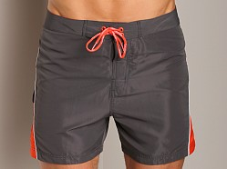 Calvin Klein Colorblock Swim Boxer Charcoal