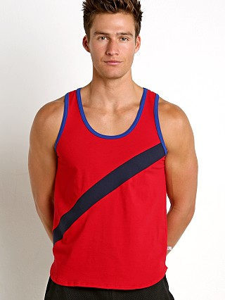 Complete the look: American Jock Sprint Decathlon Tank Red