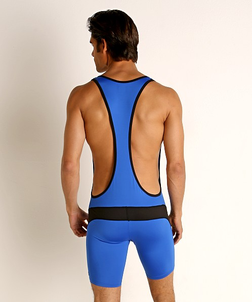 Cell Block 13 Cyclone 2.0 Singlet Blue