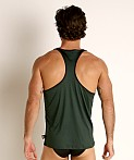 Cell Block 13 Cyclone 2.0 Tank Top Green, view 4
