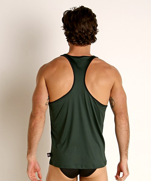 Cell Block 13 Cyclone 2.0 Tank Top Green