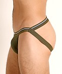 Cell Block 13 Tight End Swimmer Jockstrap Army Green, view 4