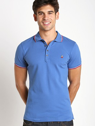 Diesel T-Skin Piquet Polo Shirt Bright Cobalt