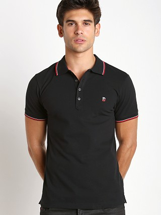 Diesel T-Skin Piquet Polo Shirt Black