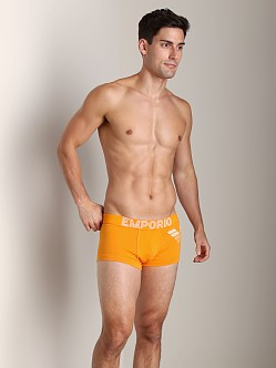 Emporio Armani Stretch Cotton Trunk Tramonto