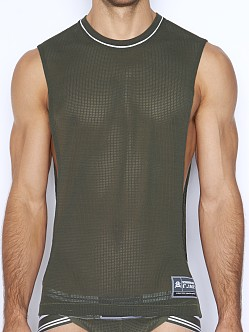 C-IN2 Scrimmage Lift Tank Top Moss