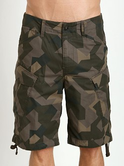 G-Star Raw Cargo Rovic Camo Shorts Raw Grey