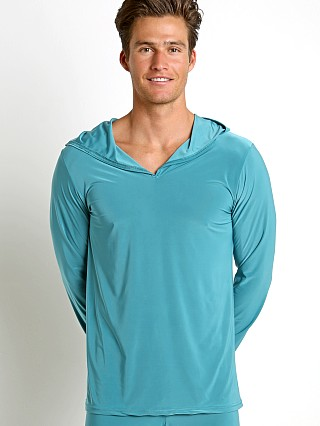 Complete the look: N2N Bodywear Dream Lounge Hoodie Jade