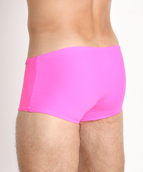 Modus Vivendi Double Face Reversible Swim Trunk Red/Fuchsia
