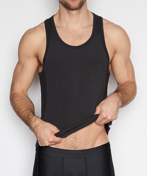 C-IN2 Grip Athletic Tank Top Black