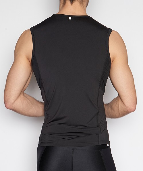 C-IN2 Grip Athletic Strong Arm Shirt Black
