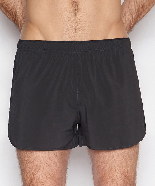 C-IN2 Grip Athletic Run Short Black