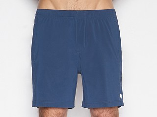 Model in abyss navy C-IN2 Grip Athletic Jump Short