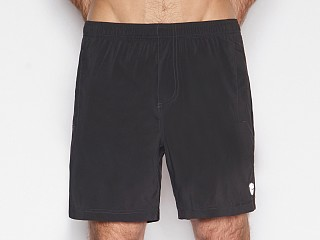 Model in black C-IN2 Grip Athletic Jump Short