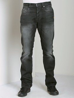 G-Star Attacc Straight Jeans Brenner Black Denim