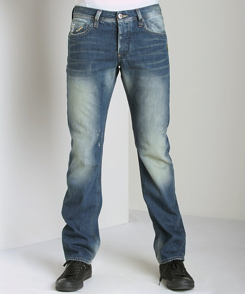 G-Star Attacc Low Straight Jeans Status Denim
