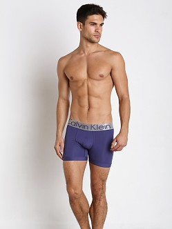 Calvin Klein Steel Micro Boxer Brief Blue Ribbon