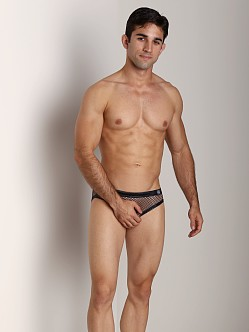 Gregg Homme Beyond Doubt Mesh Briefs Black