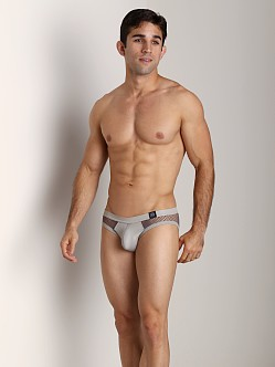 Gregg Homme Beyond Doubt Mesh Briefs Pewter