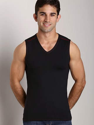 Gregg Homme Seducer Muscle Shirt Red/Black