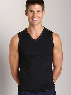 Gregg Homme Seducer Muscle Shirt Gold/Black