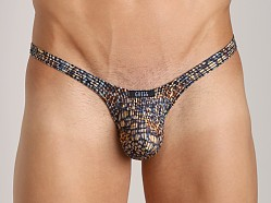 Gregg Homme Kaos Burn Out Thong Blue Print
