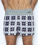 C-IN2 Woven Swim Shorts Hound's Tooth Lite, view 2