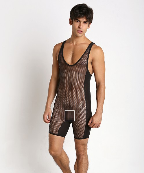 Go Softwear Hard Core Chain Link Mesh Singlet Black
